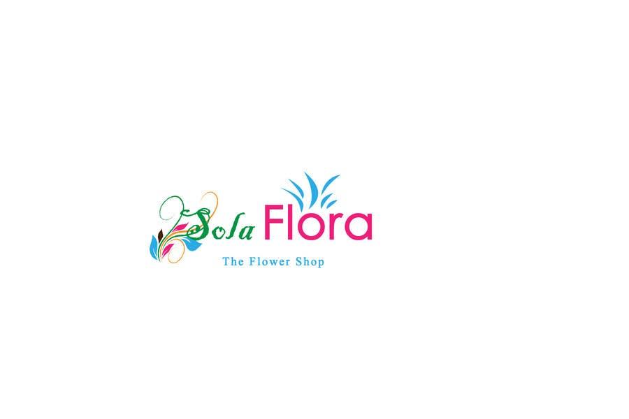 Konkurrenceindlæg #                                        79                                      for                                         Design a Logo for flower shop called sola flora