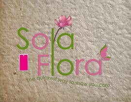 #91 for Design a Logo for flower shop called sola flora by ashusrivastava