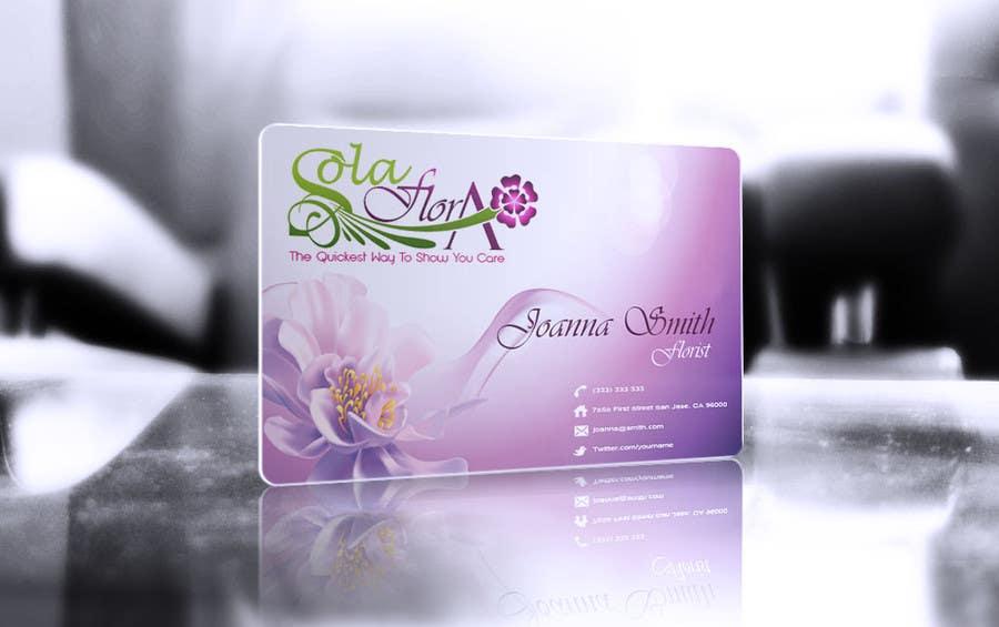 Konkurrenceindlæg #                                        134                                      for                                         Design a Logo for flower shop called sola flora