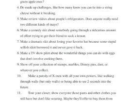 #12 cho Ideas for youtube videos (you can win) bởi minafreig