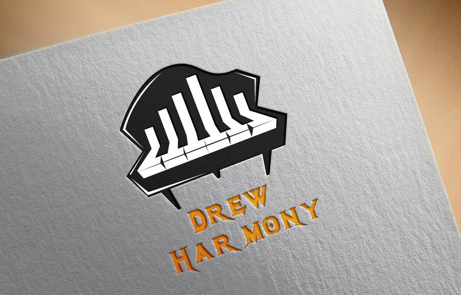 "Konkurrenceindlæg #                                        20                                      for                                         Design a Logo for My Name ""Drew Harmony"""