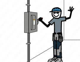 #60 for Electrician Solar Guy Graphic (Multiple Winners!) by CLOUDOFXYZ