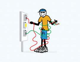 #48 for Electrician Solar Guy Graphic (Multiple Winners!) by ShahriarSimon