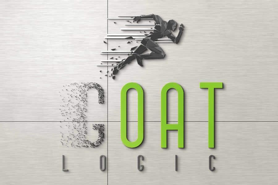 "Intrarea #                                        267                                      pentru concursul ""                                        Logo for the supplement company G.O.A.T Logic                                     """