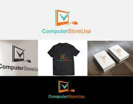Nro 10 kilpailuun Design a Logo for computerstoresusa.com käyttäjältä geniusdesigner1