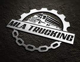 DesignarParvaj tarafından Trucking Company logo için no 194