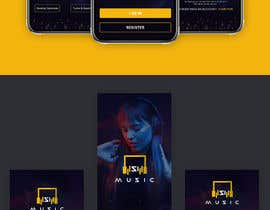 "#17 cho ""SiMusic"" app graphic restyling (android & ios) bởi Anup2255"