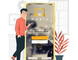 "#15 untuk ""SiMusic"" app graphic restyling (android & ios) oleh mdashikurrahama1"