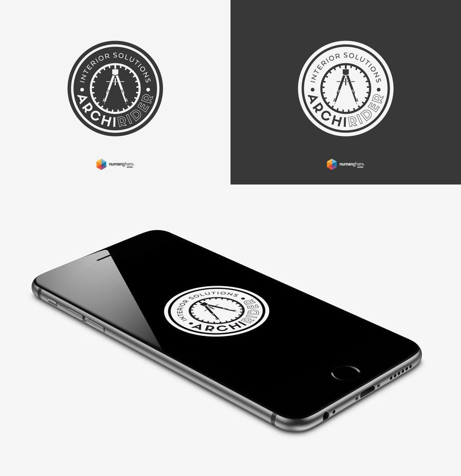 Proposition n°                                        47                                      du concours                                         Round logo for Architectural company