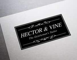 #5 for Design a Logo for Hector & Vine, The Gentlemen's Tailor af Carlitacro