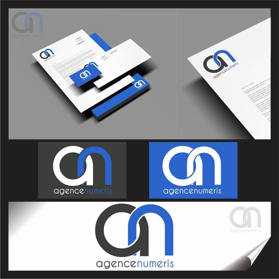 Contest Entry #                                        55                                      for                                         Create logo for Agence Numeris