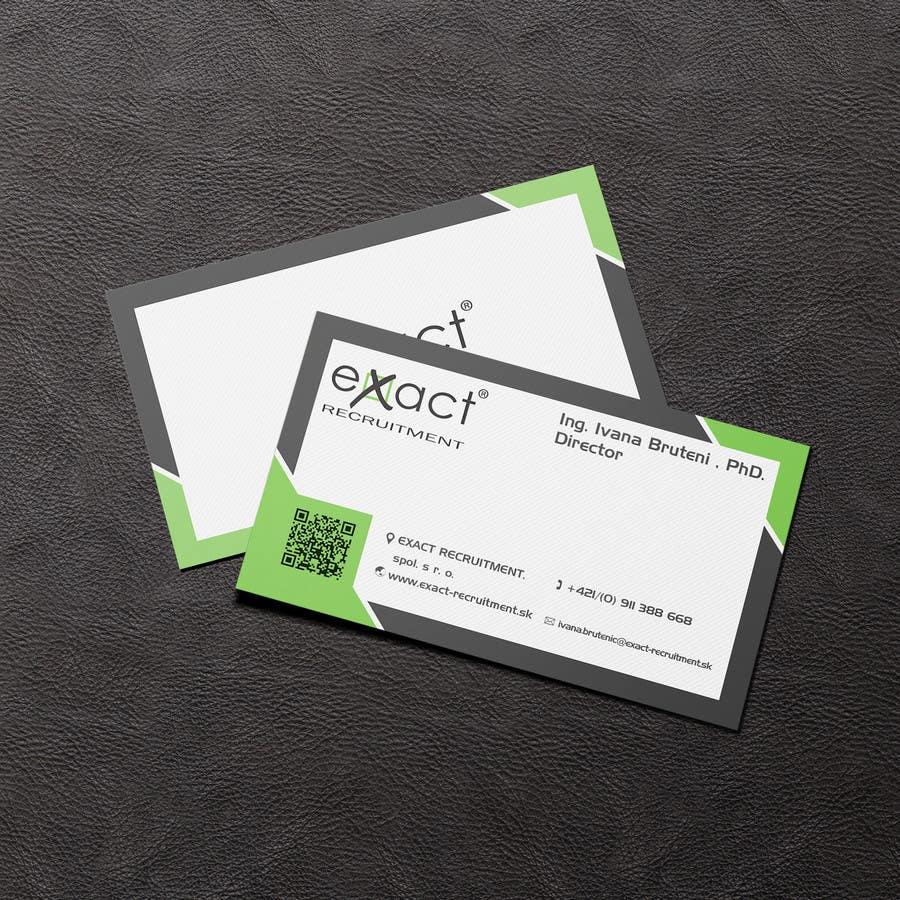 Konkurrenceindlæg #                                        35                                      for                                         Design Business Cards for Recruitment company