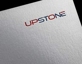 Nro 75 kilpailuun I want to create a logo for my company which us called Upstone as well as a powerpoint slide template using the colours and logo as described käyttäjältä dipakprosun