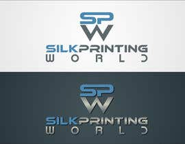 #24 cho Design a Logo for SilkPrintingWorld Company bởi mille84