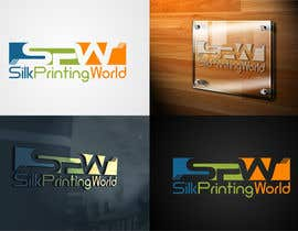 nº 50 pour Design a Logo for SilkPrintingWorld Company par mille84