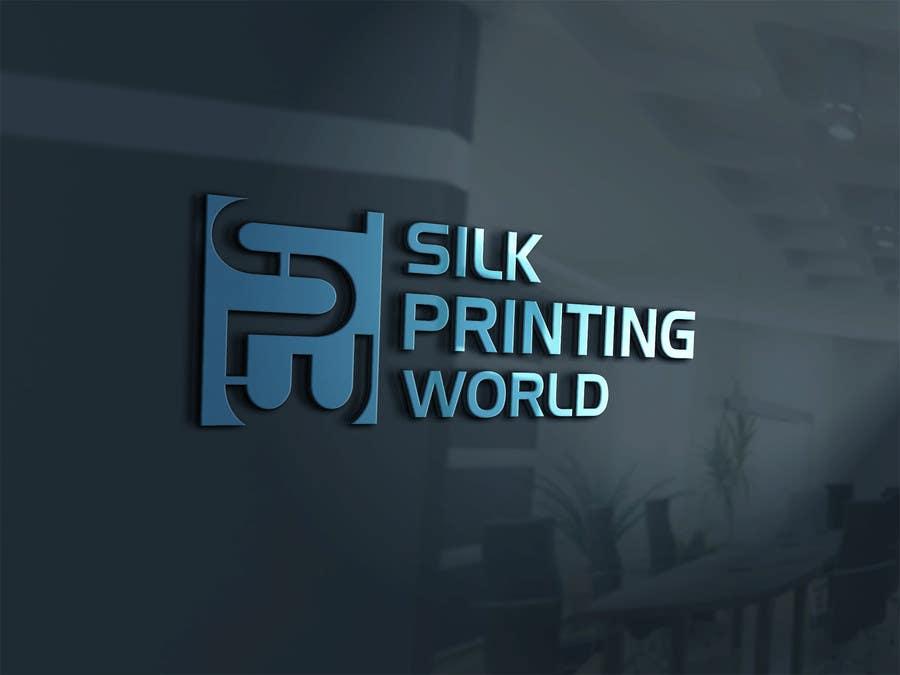Contest Entry #45 for Design a Logo for SilkPrintingWorld Company
