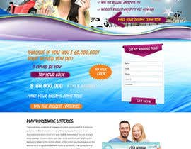 #10 for Landing Page and Banners for Online Lotto Service af webidea12