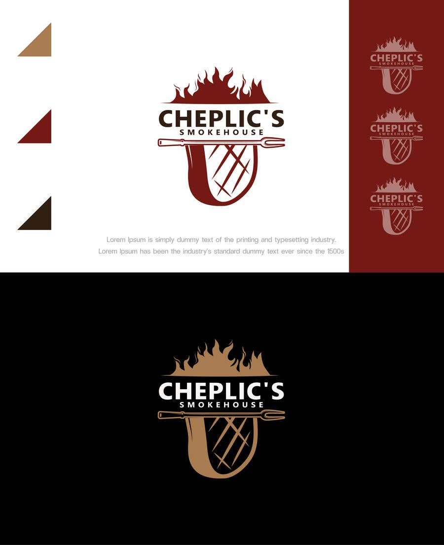 Kilpailutyö #                                        49                                      kilpailussa                                         Create a logo for corporate customer smoked meats, jerky, and beef sticks