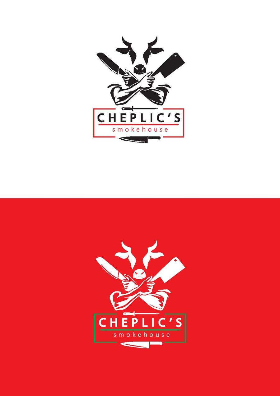 Kilpailutyö #                                        43                                      kilpailussa                                         Create a logo for corporate customer smoked meats, jerky, and beef sticks