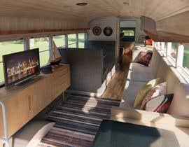 Nro 39 kilpailuun 3D House design in a BUS käyttäjältä aliwafaafif