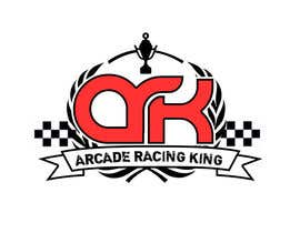 #80 para Design a Logo for an ARCADE RACE GAME por martinsholat
