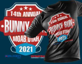 #180 for T-Shirt Design for Bunny Run 14 Off Road Trail Ride by riaz00787