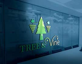 #143 for Tree & Vine Winery by TipuSultan92