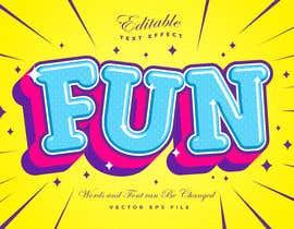 #18 untuk kids brand logo design / pop art style oleh ahsanriaz25791