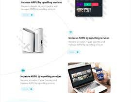 #63 for Landing page redesign af MohamdAwija