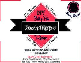 #18 for Can YOU Fix my Label Design? EASY MONEY! Print and Packaging ReDesign for Rusty Hippo by janmayen