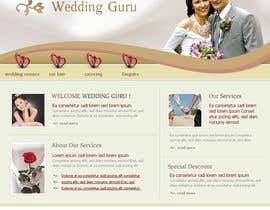 nº 23 pour Website Design for Wedding Guru par sandeep9843