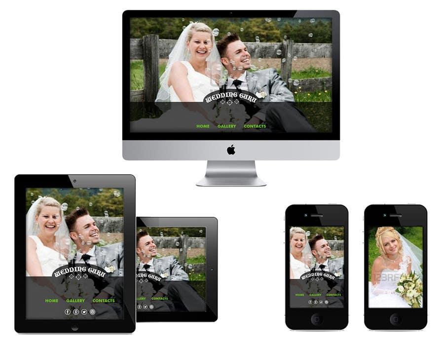 Bài tham dự cuộc thi #9 cho Website Design for Wedding Guru