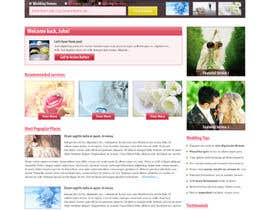 nº 21 pour Website Design for Wedding Guru par HailDuong