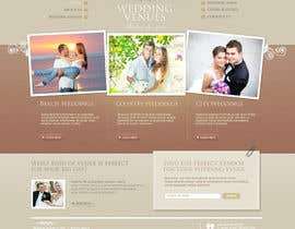 nº 10 pour Website Design for Wedding Guru par danangm