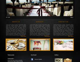 nº 15 pour Website Design for Wedding Guru par rep2012