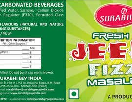 #7 for Redesigning of label for beverage af dinesh0805