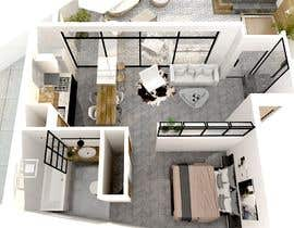 Nro 19 kilpailuun Best flat configuration käyttäjältä Kinterior