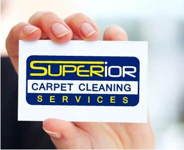 """Kilpailutyö #                                        38                                      kilpailussa                                         Logo Design for """"Superior Carpet Cleaning Services"""""""