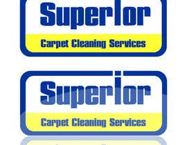 "#24 para Logo Design for ""Superior Carpet Cleaning Services"" por visualbliss"