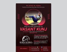 #37 for Design a Pilates and Yoga Studio Flyer by nibirnowshad