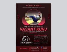 #37 for Design a Pilates and Yoga Studio Flyer af nibirnowshad