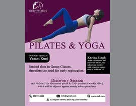 #56 for Design a Pilates and Yoga Studio Flyer by saon2400