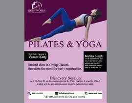 #56 for Design a Pilates and Yoga Studio Flyer af saon2400