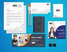 #17 untuk Need Corporate Identity and Stationary Design for a Digital Agency Firm oleh MonowarAnjum