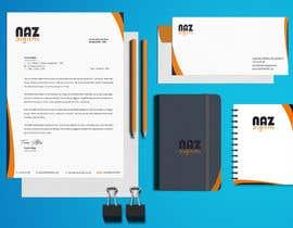 #44 untuk Need Corporate Identity and Stationary Design for a Digital Agency Firm oleh MonowarAnjum