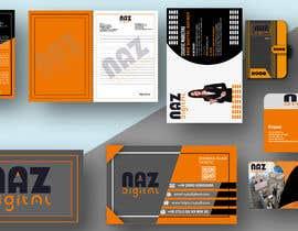 #30 untuk Need Corporate Identity and Stationary Design for a Digital Agency Firm oleh shajedulislamsum