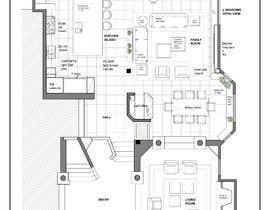Nro 28 kilpailuun Floor plan Redesign käyttäjältä yiselaky