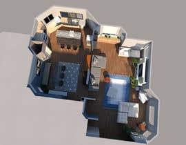 #38 for Floor plan Redesign af yomnaabdelbary