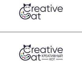 #78 untuk Creative Logo for Creative cat oleh Aadarshsharma