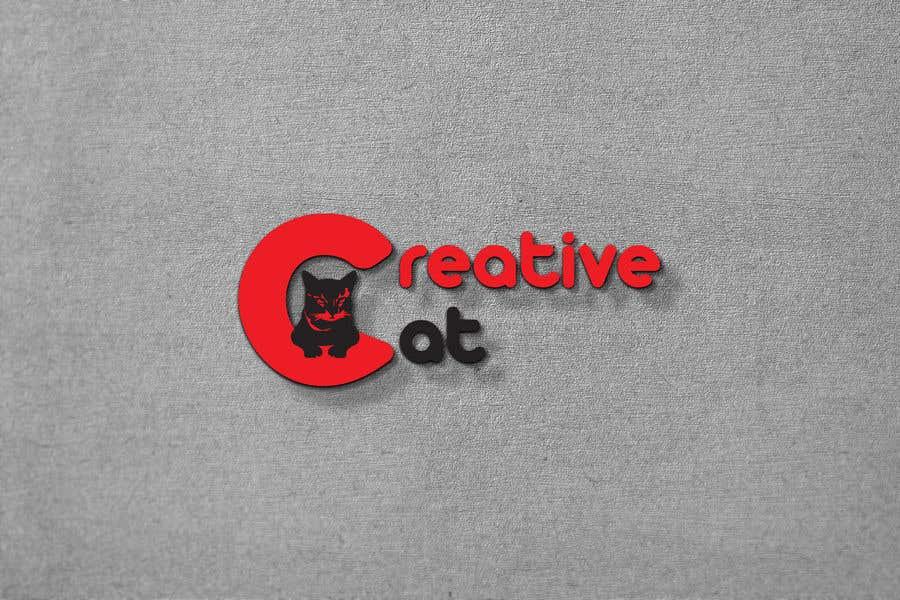 Penyertaan Peraduan #                                        71                                      untuk                                         Creative Logo for Creative cat
